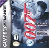 James Bond 007: Everything or Nothing (Game Boy Advance)