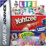 Life / Yahtzee / Payday (Game Boy Advance)