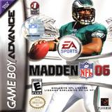 Madden NFL 06 (Game Boy Advance)