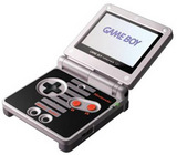 Nintendo Game Boy Advance SP -- Classic NES Limited Edition (Game Boy Advance)