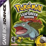 Pokemon LeafGreen Version -- Manual Only (Game Boy Advance)