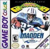 Madden NFL 2001 (Game Boy Color)
