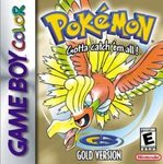 Pokemon Gold Version (Game Boy Color)