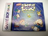 Rugrats: Time Travelers -- Manual Only (Game Boy Color)