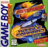 Arcade Classic 1: Asteroids / Missile Command (Game Boy)