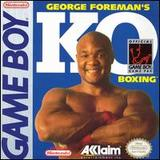 George Foreman's KO Boxing (Game Boy)