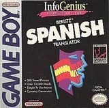InfoGenius Productivity Pak: Berlitz Spanish Translator (Game Boy)