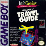 InfoGenius Productivity Pak: Frommer's Travel Guide (Game Boy)