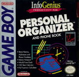InfoGenius Productivity Pak: Personal Organizer (Game Boy)