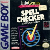 InfoGenius Productivity Pak: Spell Checker and Calculator (Game Boy)