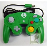 Controller -- Club Nintendo Edition: Luigi (GameCube)