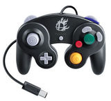 Controller -- Super Smash Bros. Black Edition (GameCube)