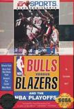 Bulls vs. Blazers and the NBA Playoffs (Genesis)