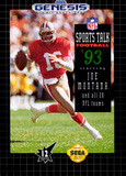 NFL Sports Talk Football '93 Starring Joe Montana (Genesis)