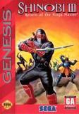 Shinobi III: Return of the Ninja Master (Genesis)