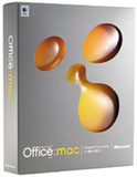 Microsoft Office:mac v.X -- Academic (Macintosh)
