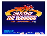 Art of Fighting 3 (Neo Geo MVS (arcade))