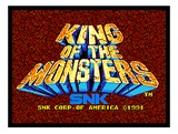 King of the Monsters (Neo Geo MVS (arcade))