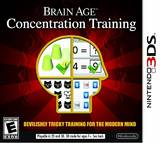 Brain Age: Concentration Training (Nintendo 3DS)