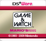Game & Watch: Mario's Cement Factory (Nintendo 3DS)