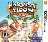 Harvest Moon 3D: A New Beginning (Nintendo 3DS)