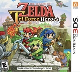 Legend of Zelda: Tri Force Heroes, The (Nintendo 3DS)