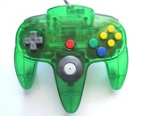 Controller -- Jungle Green (Nintendo 64)
