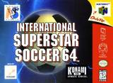 International Superstar Soccer 64 (Nintendo 64)