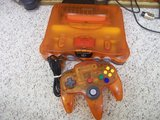 Nintendo 64 -- Fire Orange (Nintendo 64)
