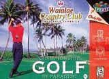 Waialae Country Club: True Golf Classics (Nintendo 64)