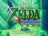 Legend of Zelda: Four Swords Anniversary Edition, The (Nintendo DS)