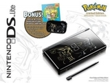 Nintendo DS Lite -- Onyx Dialga and Palkia Edition (Nintendo DS)