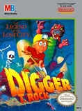 Digger T. Rock: The Legend of the Lost City (Nintendo Entertainment System)