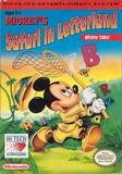 Mickey's Safari in Letterland (Nintendo Entertainment System)