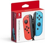 Controller -- Joy-Con (L/R) - Neon Red/Neon Blue (Nintendo Switch)