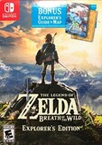 Legend of Zelda: Breath of the Wild, The -- Explorer's Edition (Nintendo Switch)