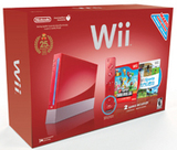 Nintendo Wii -- Limited Edition Mario Red (Nintendo Wii)