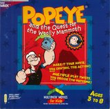Popeye and the Quest for the Woolly Mammoth -- Multipath Adventure (PC)