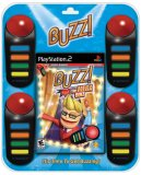 Buzz! The Mega Quiz -- 4 Buzzer Bundle (PlayStation 2)