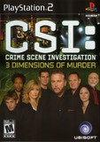 CSI: 3 Dimensions of Murder (PlayStation 2)