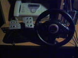 Controller -- Racing Wheel (PlayStation 2)
