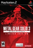 Metal Gear Solid 3: Subsistence -- Limited Edition (PlayStation 2)