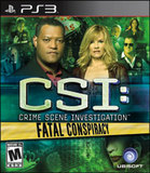 CSI: Fatal Conspiracy (PlayStation 3)