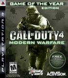 Call of Duty 4: Modern Warfare -- Game of the Year Edition (PlayStation 3)