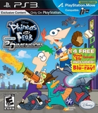 Phineas and Ferb: Across the 2nd Dimension (PlayStation 3)