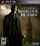 Testament of Sherlock Holmes, The (PlayStation 3)
