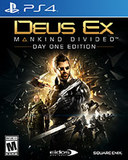 Deus Ex:Mankind Divided -- Day One Edition (PlayStation 4)