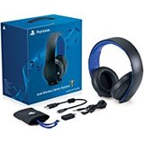 Headset -- PlayStation Gold Wireless Stereo Headset (PlayStation 4)