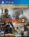 Tom Clancy's The Division 2 -- Gold Edition with Steelbook (PlayStation 4)