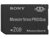 Sony Memory Stick PRO Duo -- 2GB (PlayStation Portable)